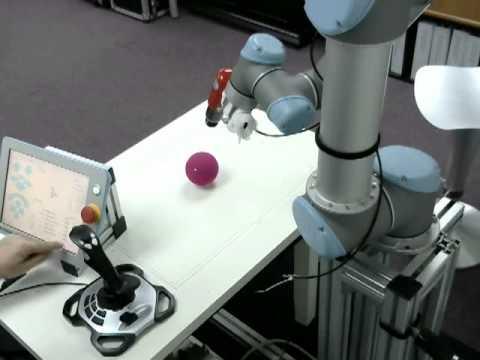 universal-robots zacobria 3d 6 axis joystick control programming template (Video 3)