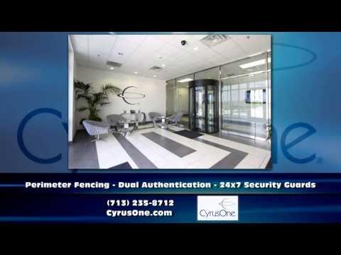 Houston Texas Colocation  CyrusOne Houston Data Center