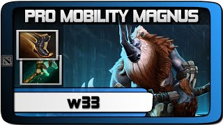 "w33 Magnus ""Mobility Build"" Ranked Gameplay 