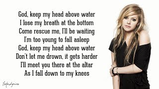 Paroles Head Above Water - Avril Lavigne (Lyrics)