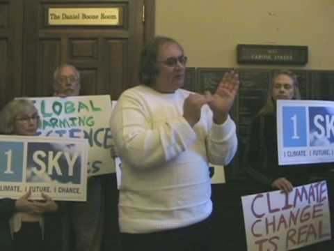 Climate Change Rally in Charleston, West Virginia Part 1