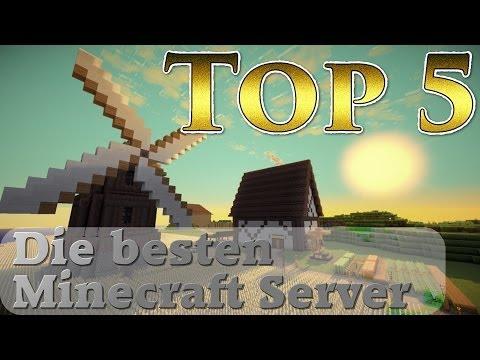 Top 5 - Die besten Minecraft Server