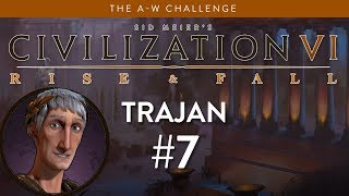 Let's Play Civilization 6: Rise and Fall - Deity - Re-Roaming part 7