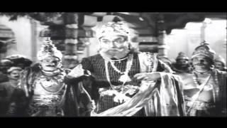 Shakuni - Maya Bazar (1957) Movie | Shakuni on Satya Peetam Scene | NTR,ANR,SVR,Savitri