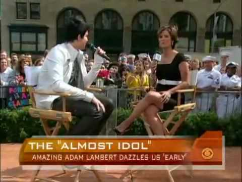 Adam Lambert - Mad World Live at the Early Show