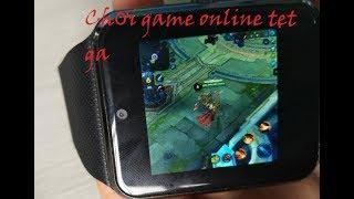 Đồng hồ thông minh giá rẻ - Vào mạng, chơi game siêu mượt (Speedtest Wifi/3G)
