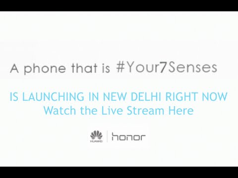 Honor 7 and Honor Band Z1 India Launch with Tech Specs, Features, Price and Q&A Round with Media