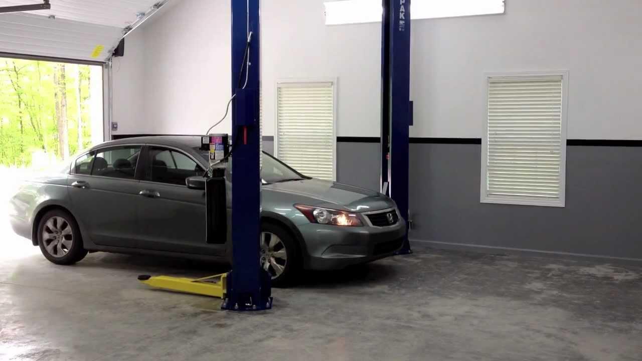My New BendPak 2-Post Lift! - YouTube