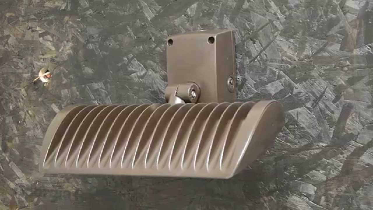 LED Large Adjustable Wall Packs - Installation Video - YouTube