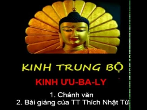 Kinh Trung Bộ - Kinh Ưu-Ba-Ly. MP3