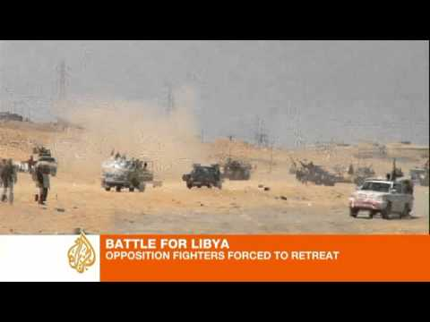 James Bays describes the rebel retreat from Bin Jawad