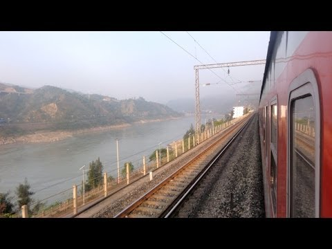 Yangtze River at the Chengdu - Kunming Railway in China