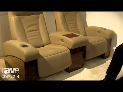 ISE 2014: Cineak Features High-Quality Home Theatre Seats