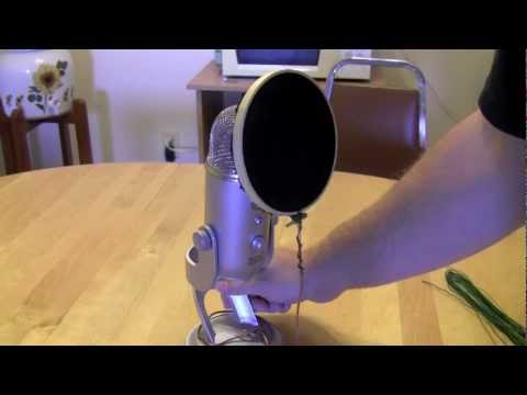 How-to make a Pop filter under $5(EASY)