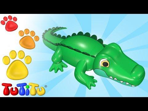 TuTiTu Deutsch | Tiere auf Deutsch | Krokodil und andere Tiere