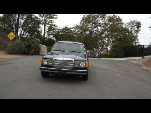 1 Owner Mercedes Benz W123 300D Bio Diesel 58k Orig Miles FOR SALE