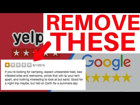 How To Remove 1 Star Reviews on Yelp. Google. Facebook -THE RIGHT WAY