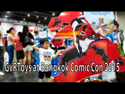 GvRToys Presents... Bangkok Comic Con 2015 & AFATH 2015 (Anime Festival Asia)
