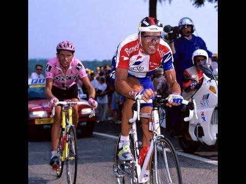 Tour 1995 Etapa 7 Indurain vs Bruyneel