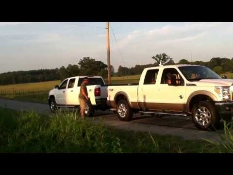 2013 Chevy 2500 vs 2012 Ford F250 - The Real Story