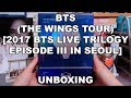UNBOXING | BTS - The Wings Tour DVD (2017 BTS Live Trilogy Episode III in Seoul)
