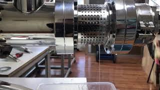 Cold press oil machine coconut oil soguk pres yağ makinası hindistan cevizi yağı çıkartıyor