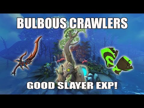 [Runescape 3] Bulbous Crawlers Slayer Guide | Lost Grove Creatures