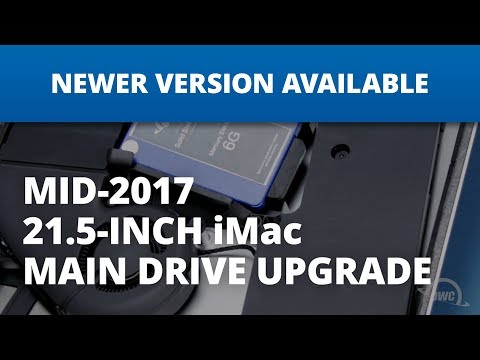 How to Upgrade the Main Drive in a 21.5-inch iMac 2017