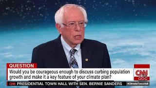 Bernie Slammed For Overpopulation Remarks | The View