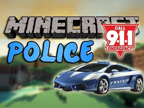 Minecraft POLICE Mod   Episode 911