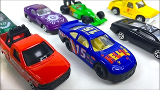 SPEED TRACK VEHICLES SECOND HALF WITH RACING CARS POLICE VEHICLES BOATS & TOW TRUCK - UNBOXING