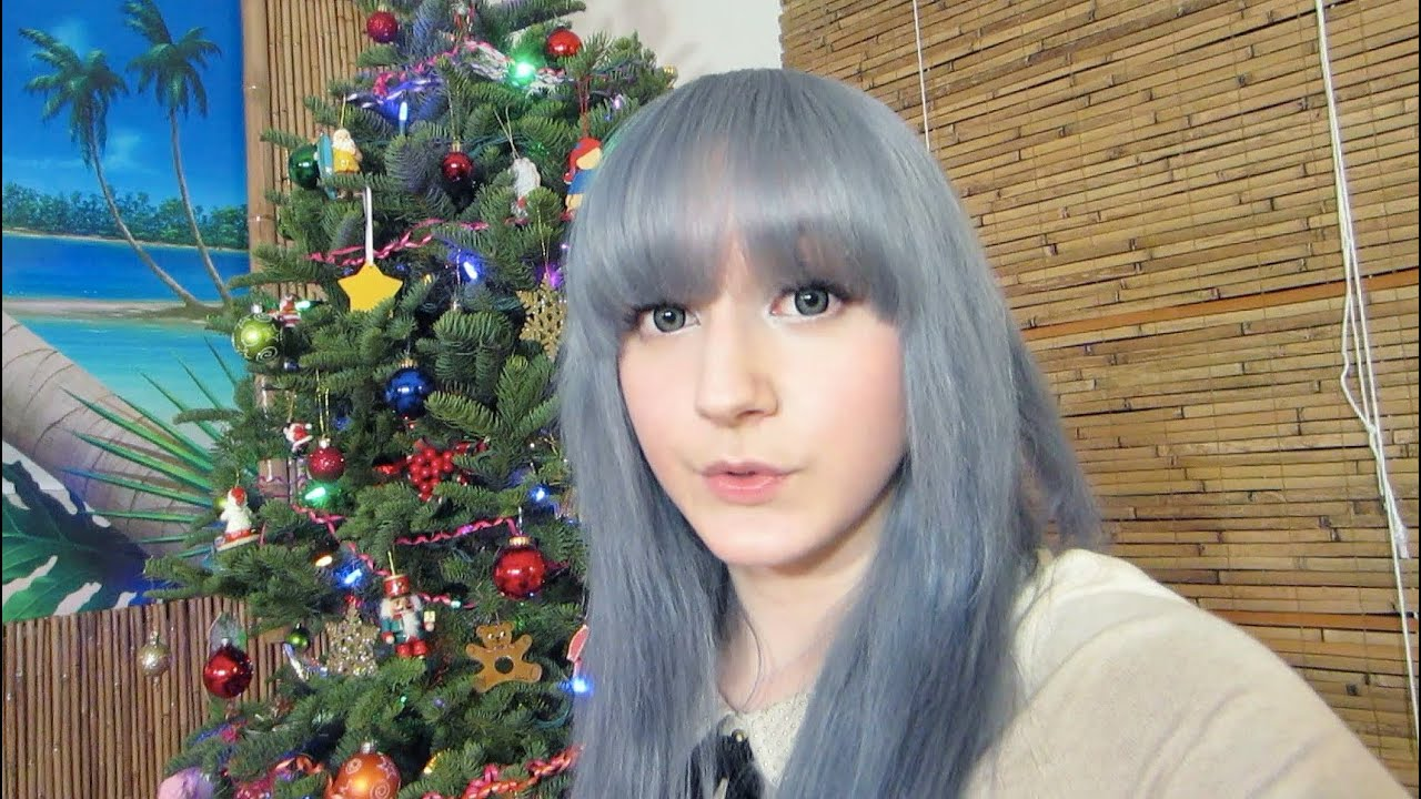 Hair Update Blue Grey Silver Youtube