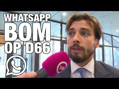 GSTV. Thierry Baudet wil WhatsApp-bombardement op Democratiehaters66