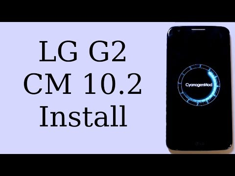 How to Install CyanogenMod 10.2 on the LG G2