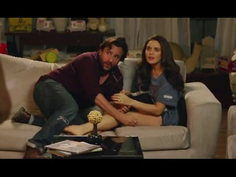 Saif Ali Khan caught in an act with Preity Zinta