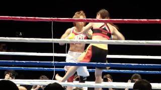 "Megumi Fujii 藤井惠 vs Tomomi ""WINDY"" Sunaba"