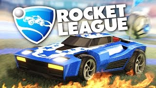 Rocket League - Убойный футбол на машинках!