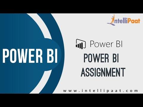 Power BI Assignment | Power BI Tutorial | Online Power BI Training | Intellipaat