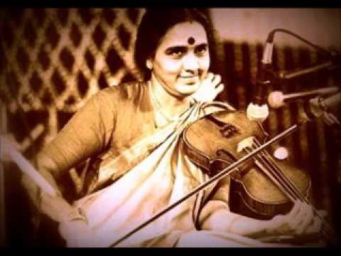 Smt. N. Rajam - Raga Malkauns (drut Teentaal) video