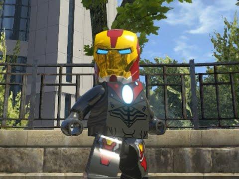 LEGO Marvel Superheroes - ULTIMATE IRON MAN FREE ROAM GAMEPLAY (MOD SHOWCASE)