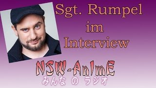 Sgt. Rumpel im Interview bei NSW-AnImE!