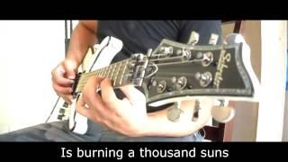 House of Wolves - Bring me The Horizon (Guitar cover , Tab & Lyrics)