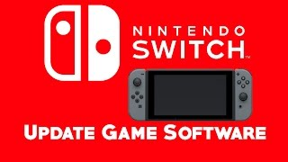 Manually Update Nintendo Switch Game Software