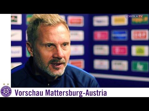 Vorschau Mattersburg - Austria