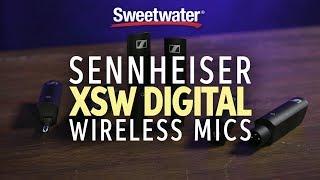 Sennheiser XSW Digital Wireless Mic System Overview