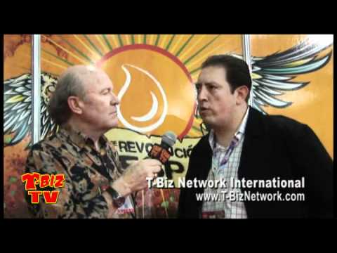 Scott Fresener Interviews Daniel Sunderland at FESPA Mexico City 2010