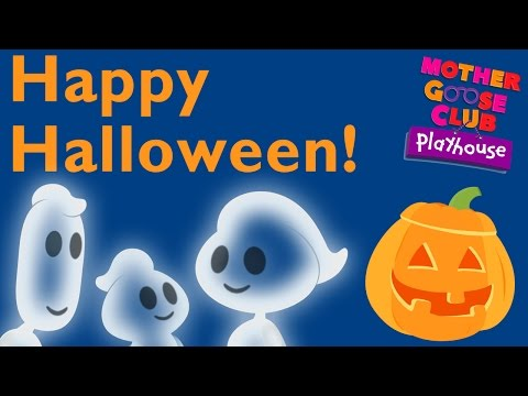 Ghost Family | Halloween Children's Song With Mother Goose Club Playhouse