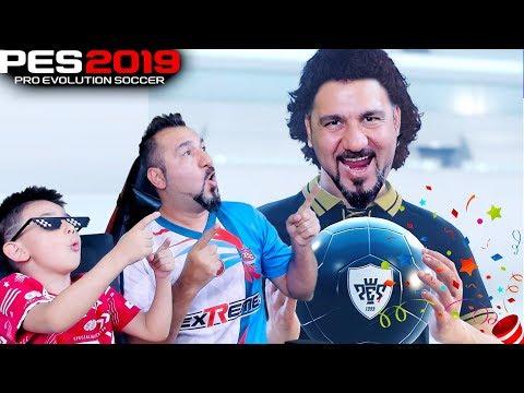 OĞLUMLA EFSANE TOPLAR AÇIYORUZ! | PES 2019 TOP AÇILIMI
