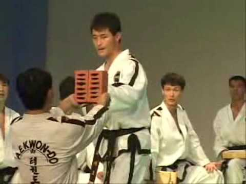 Itf Taekwon-do Breaking video