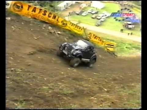 Hillclimbing Rachau 1998 race day. English commentary